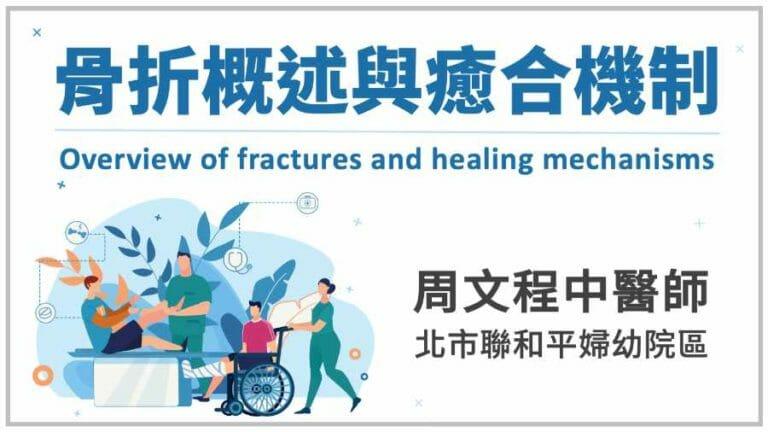 2021/3/28 中醫傷科醫學會年會主題:骨折概述與癒合機制
